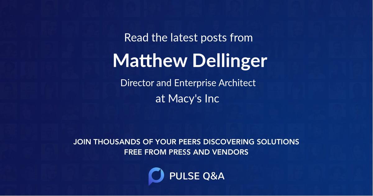 Matthew Dellinger