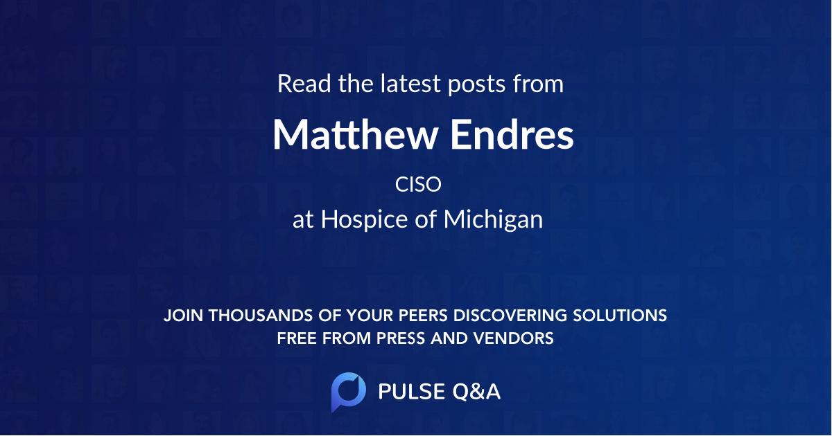 Matthew Endres