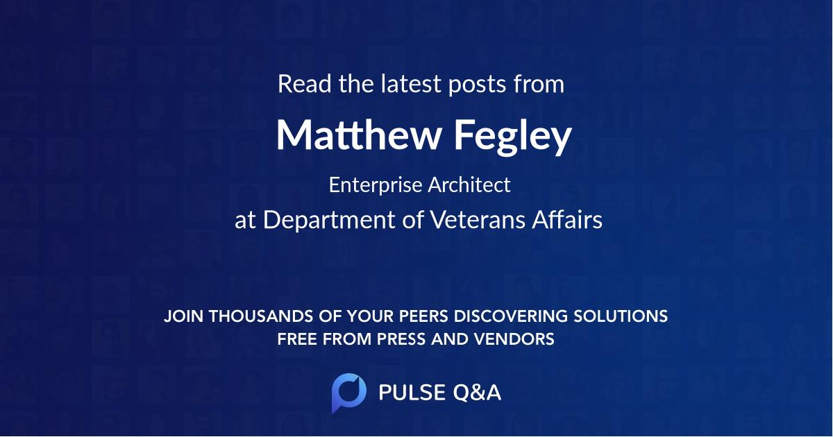 Matthew Fegley