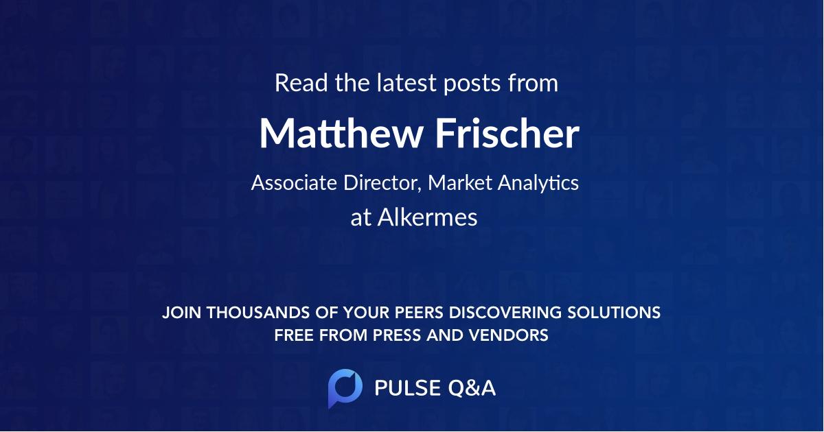Matthew Frischer