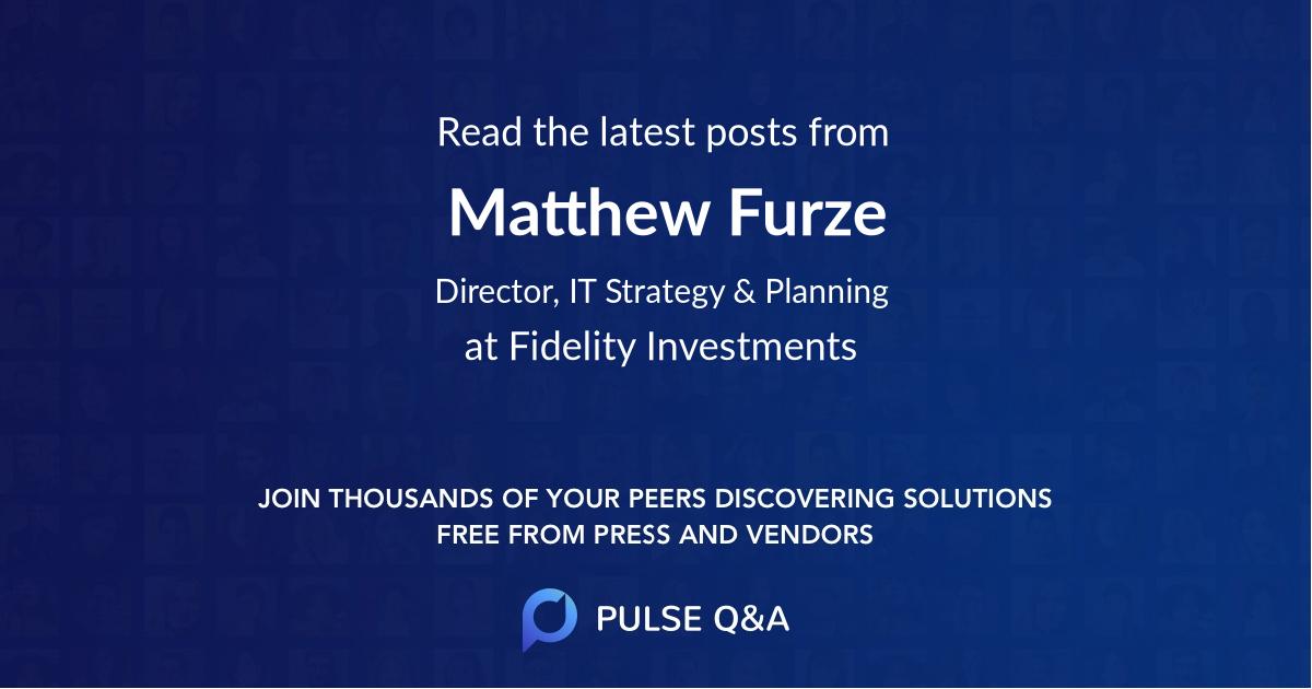 Matthew Furze