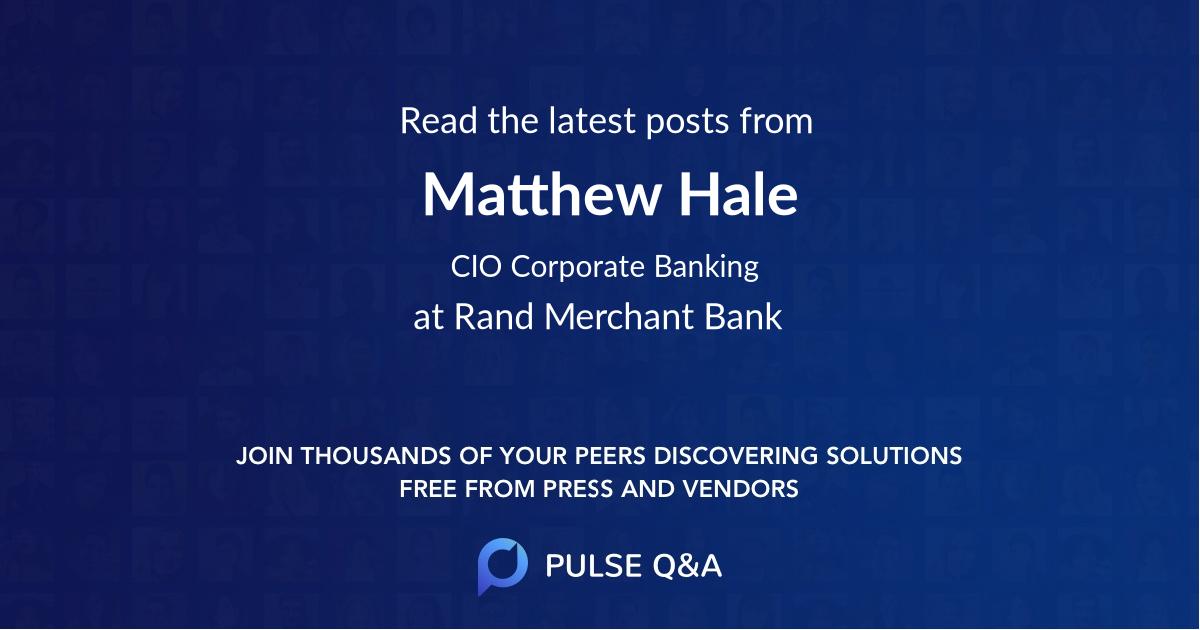 Matthew Hale