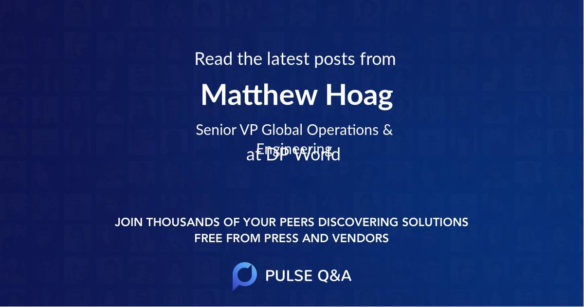 Matthew Hoag