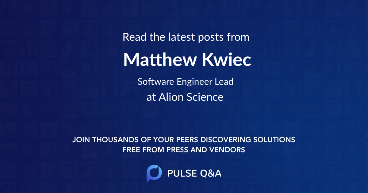 Matthew Kwiec