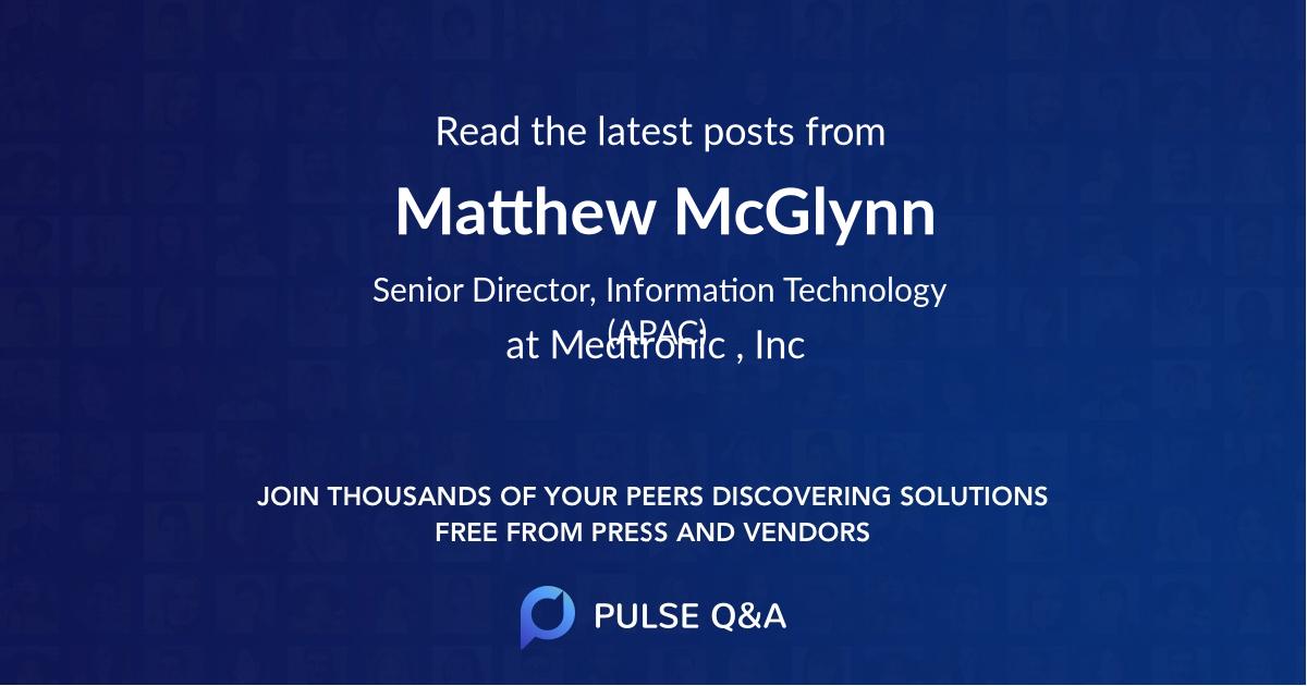 Matthew McGlynn