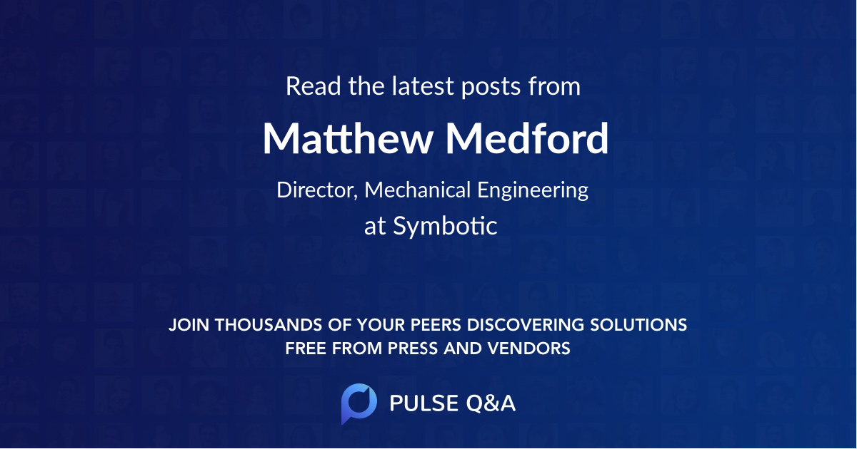 Matthew Medford