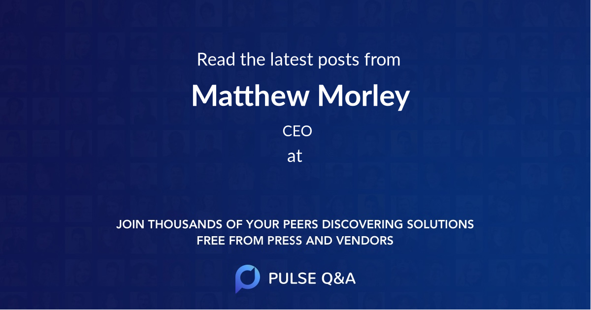 Matthew Morley