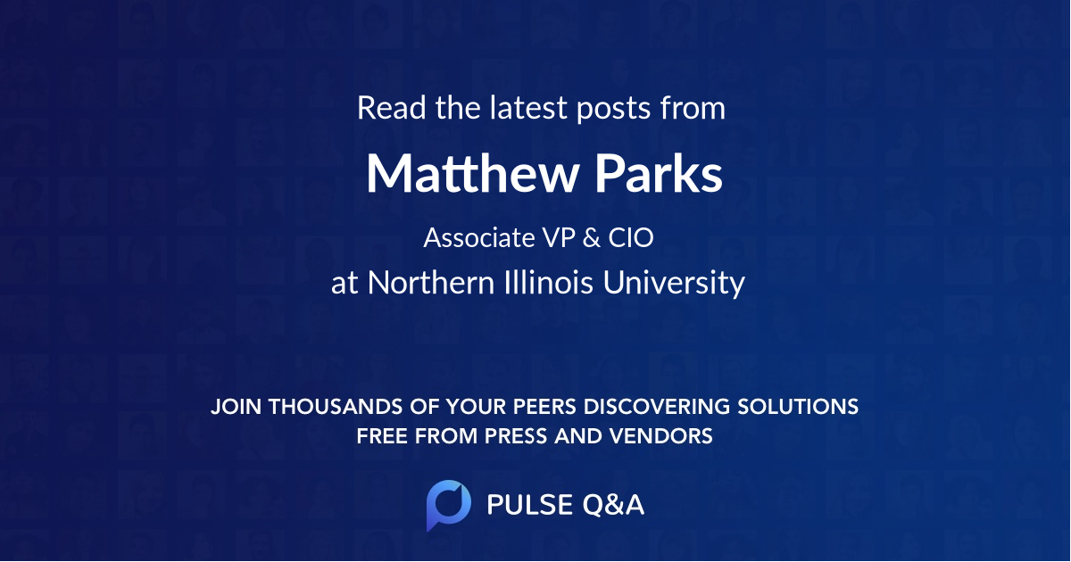 Matthew Parks