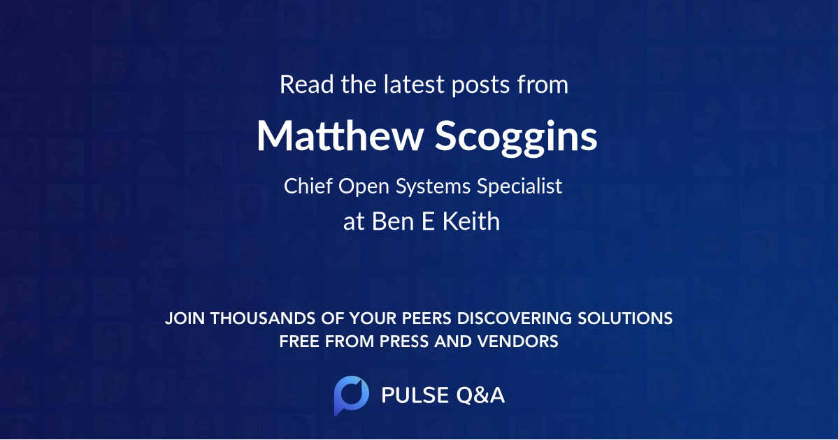 Matthew Scoggins