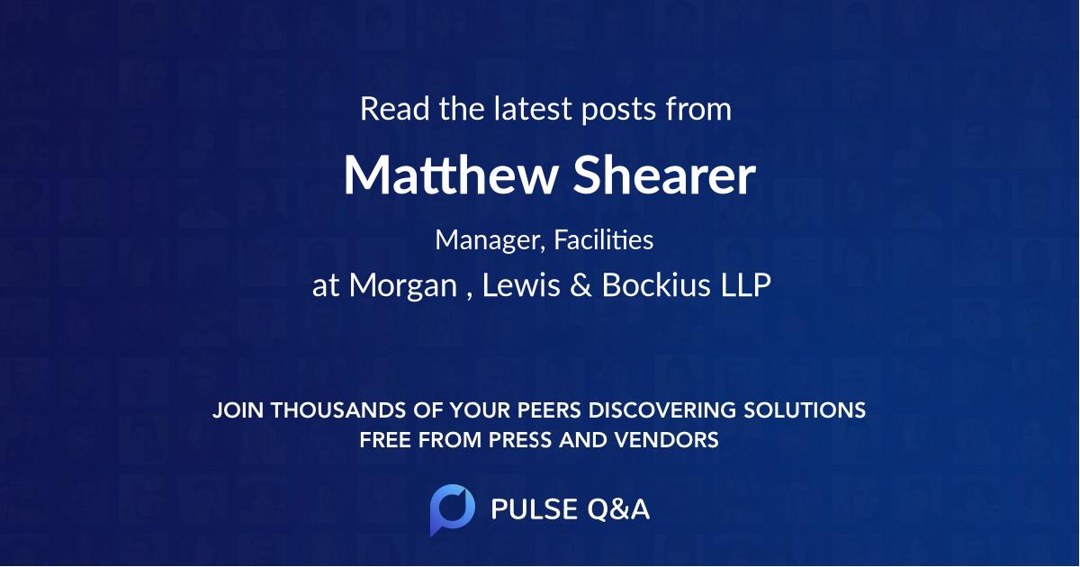 Matthew Shearer