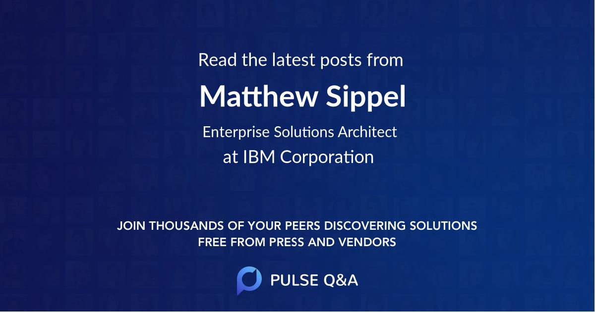 Matthew Sippel