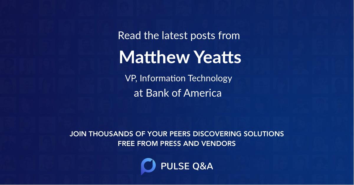 Matthew Yeatts