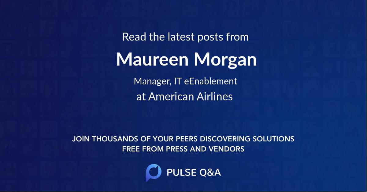 Maureen Morgan