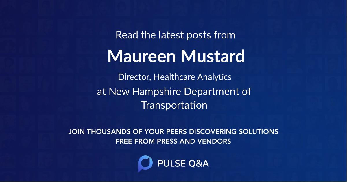Maureen Mustard