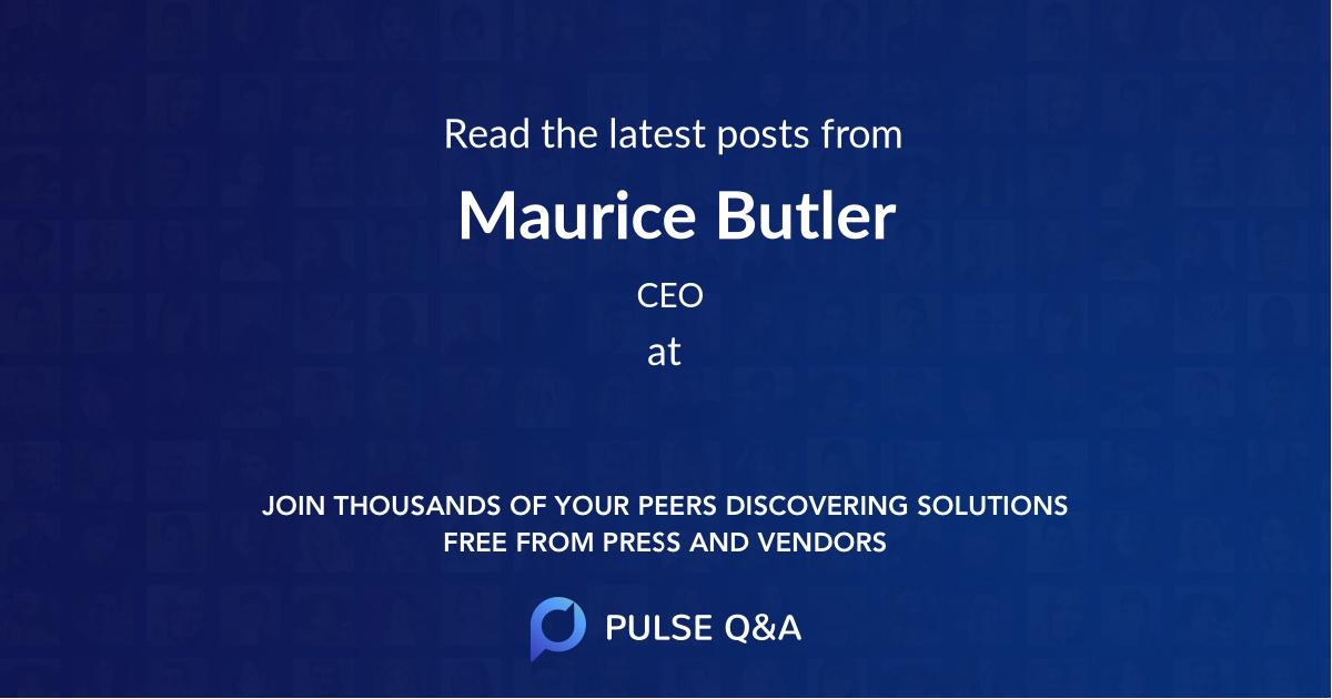 Maurice Butler