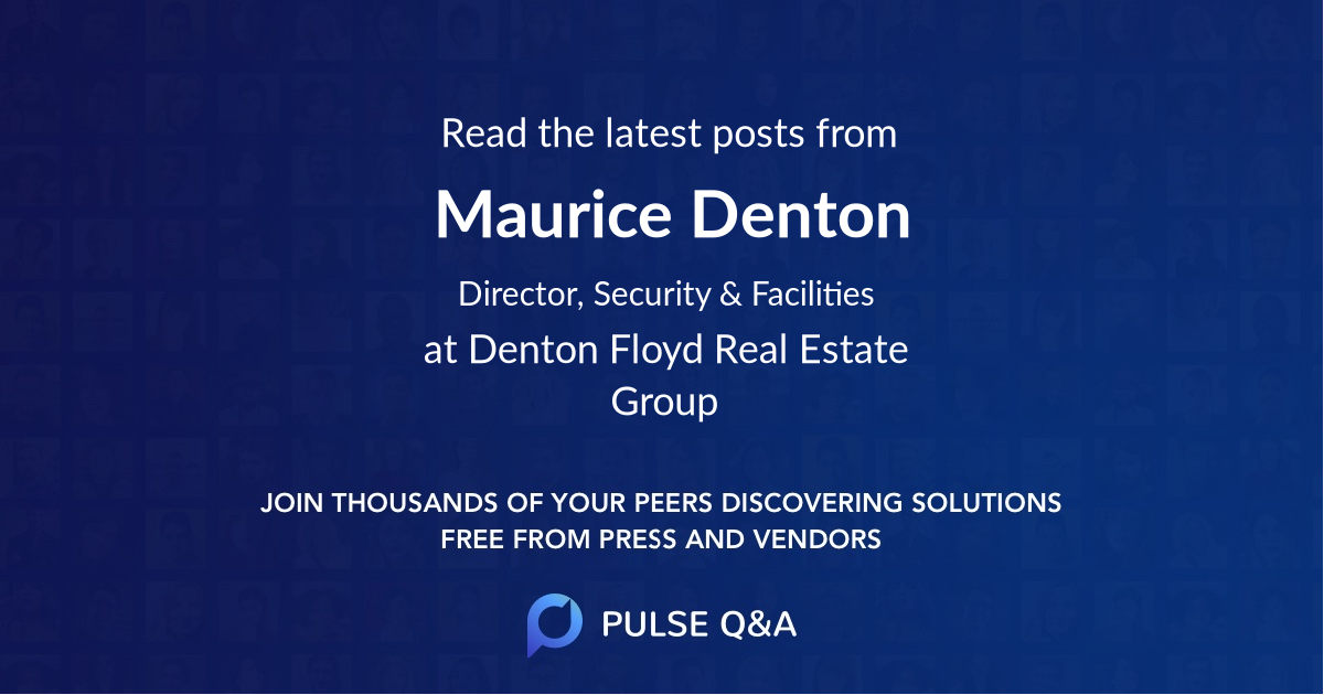 Maurice Denton