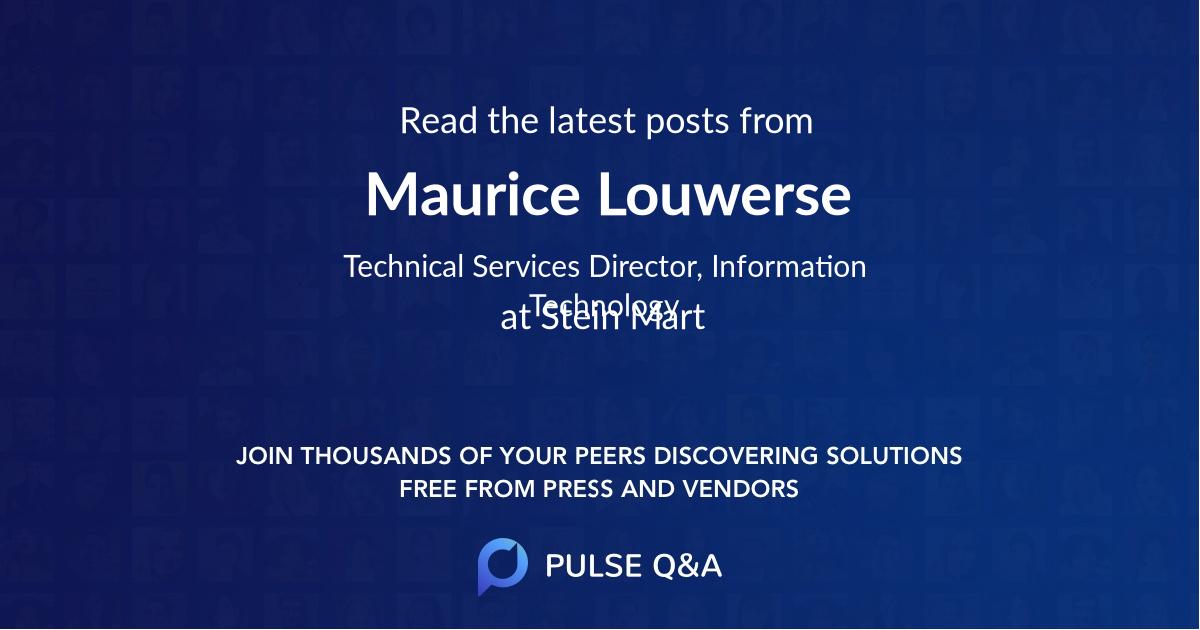 Maurice Louwerse