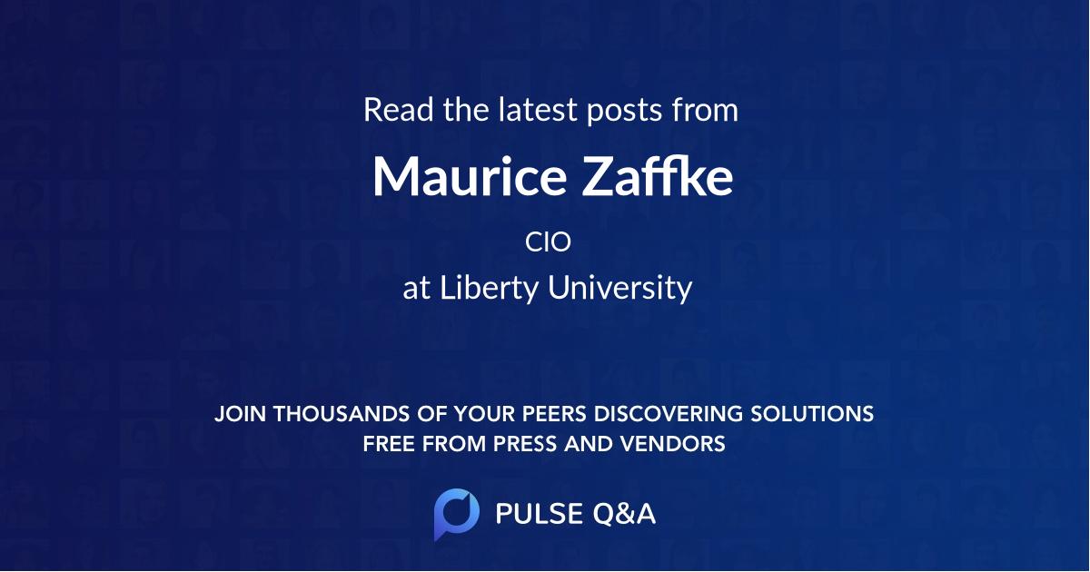 Maurice Zaffke