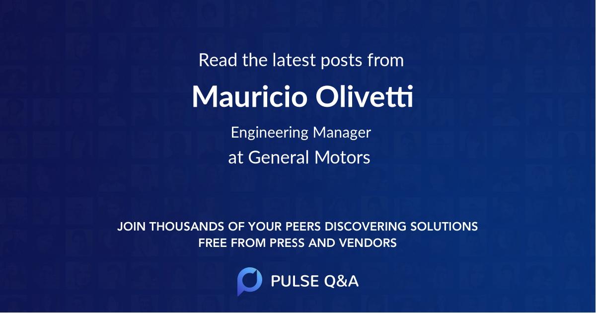 Mauricio Olivetti