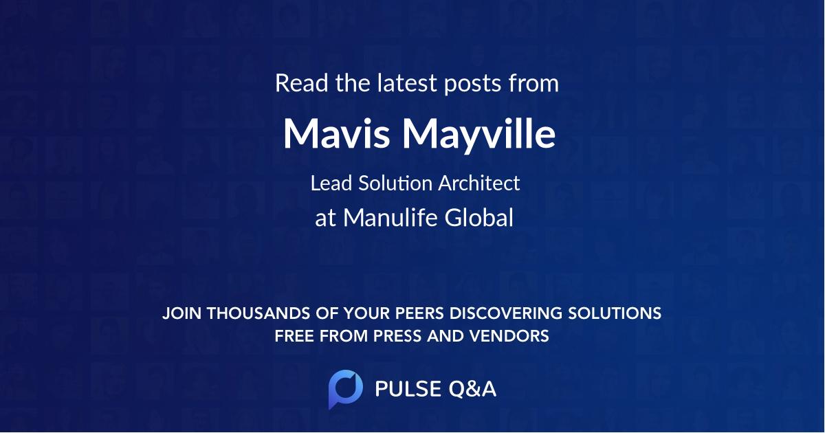 Mavis Mayville