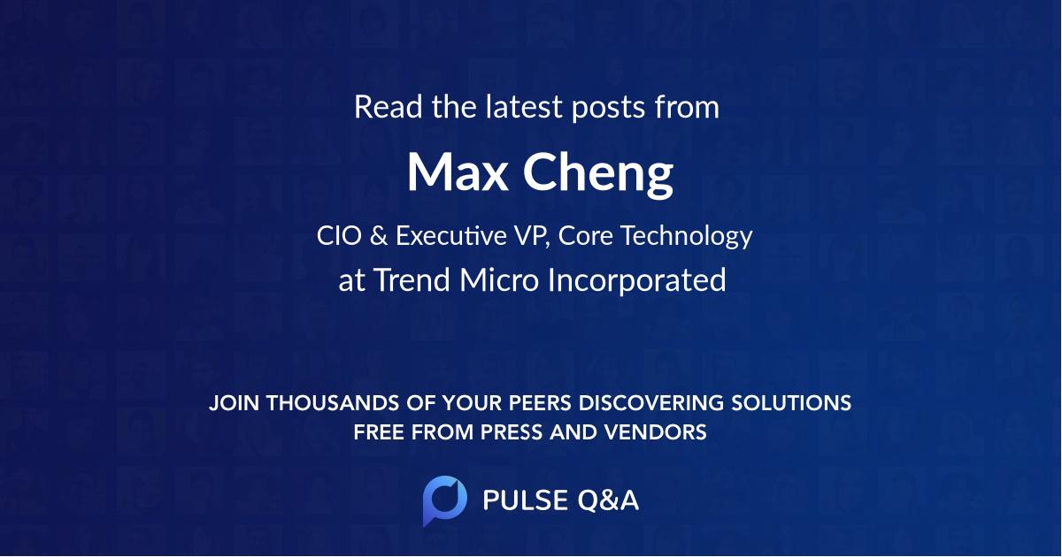 Max Cheng