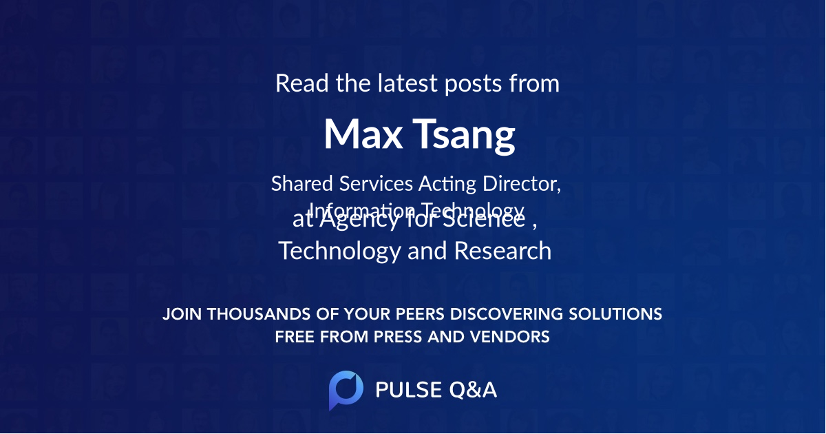 Max Tsang