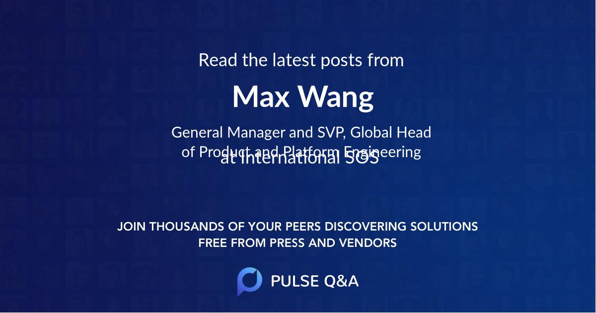 Max Wang