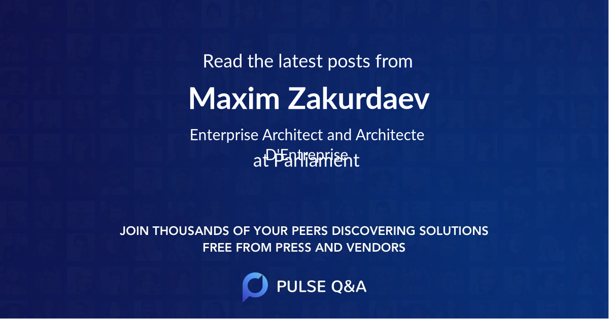 Maxim Zakurdaev