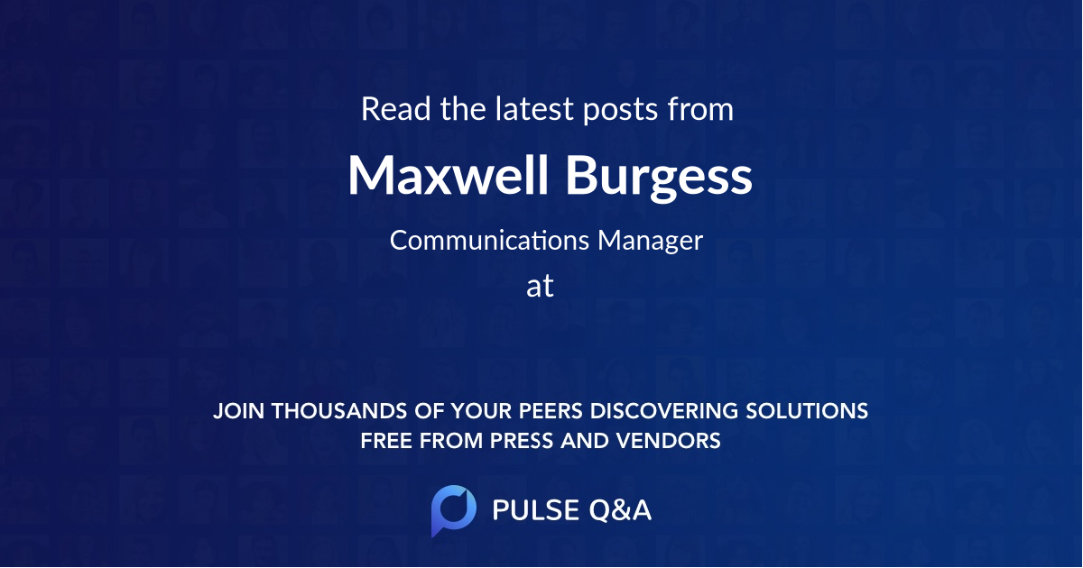 Maxwell Burgess