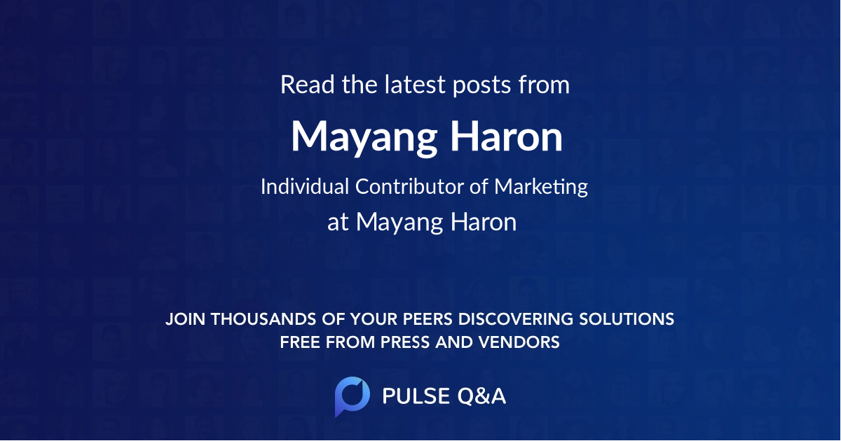 Mayang Haron