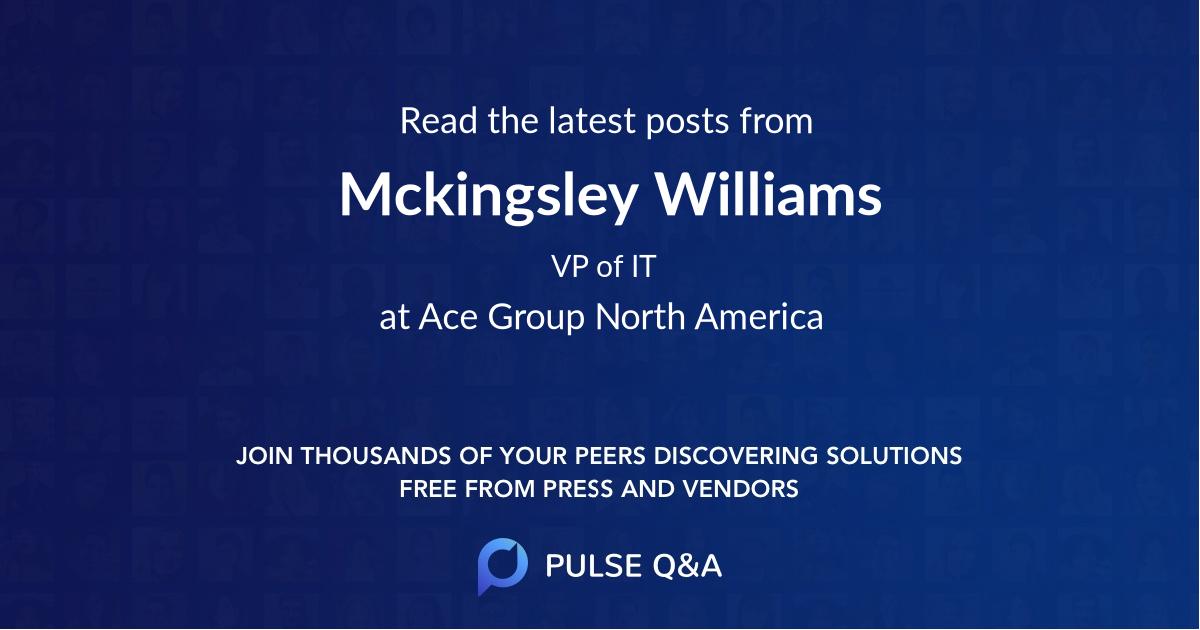 Mckingsley Williams