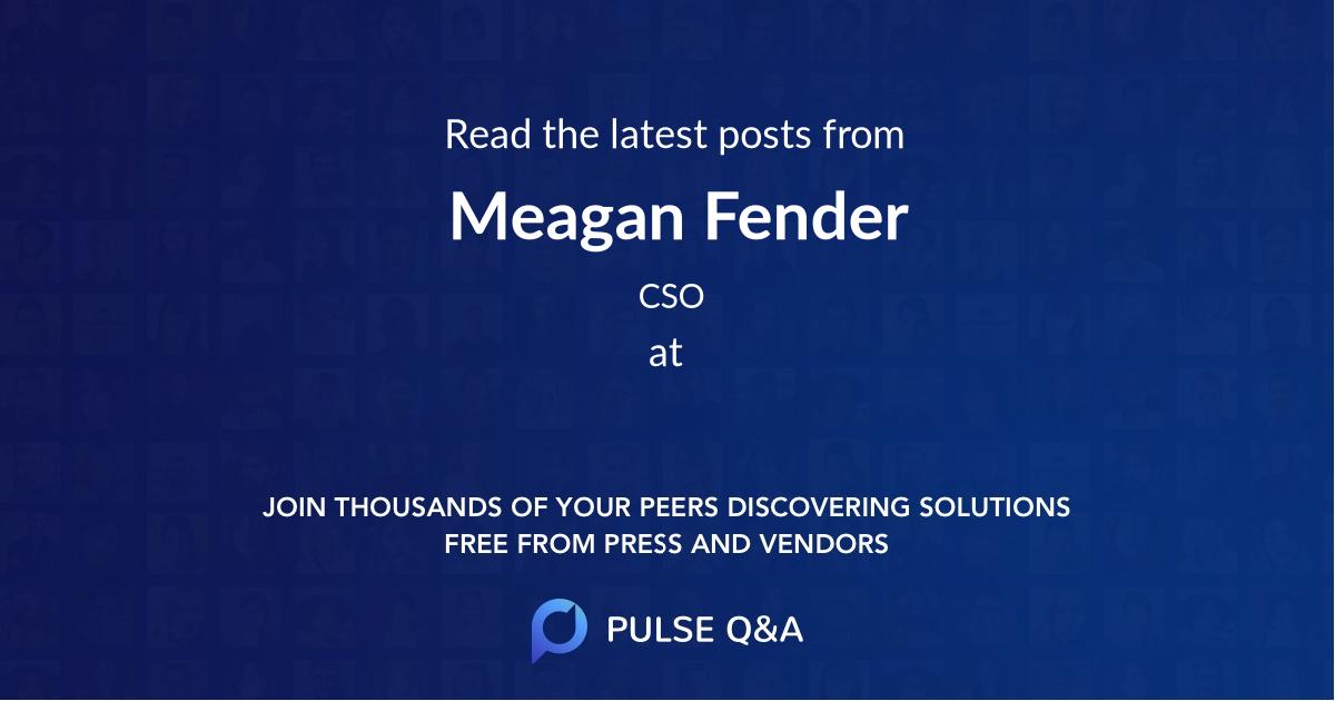 Meagan Fender
