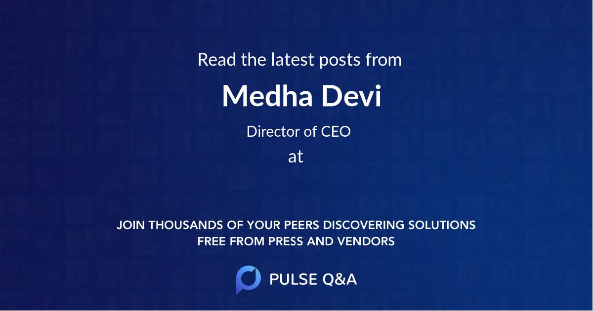 Medha Devi