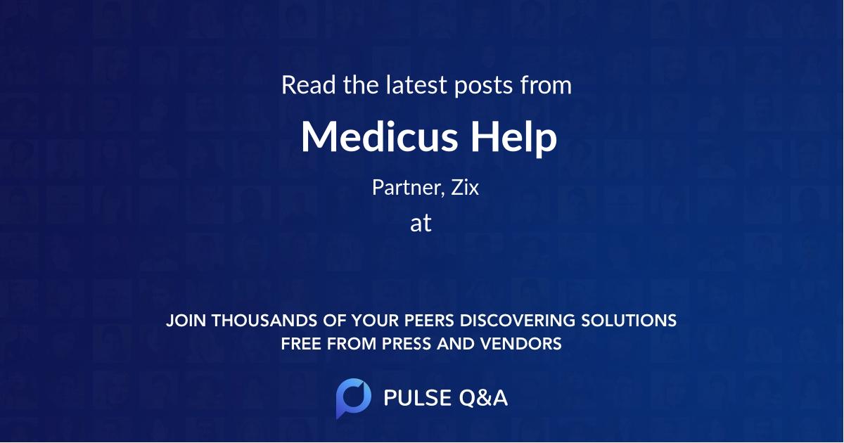 Medicus Help