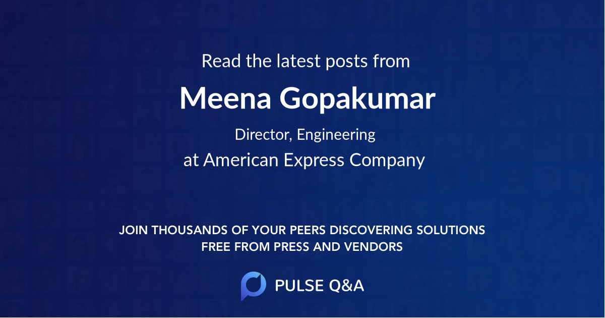 Meena Gopakumar