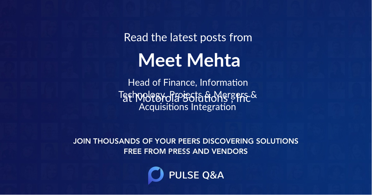 Meet Mehta