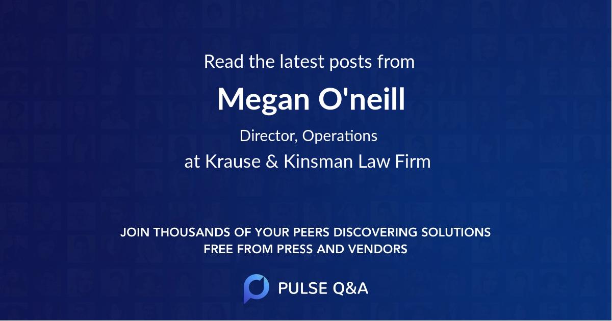 Megan O'neill