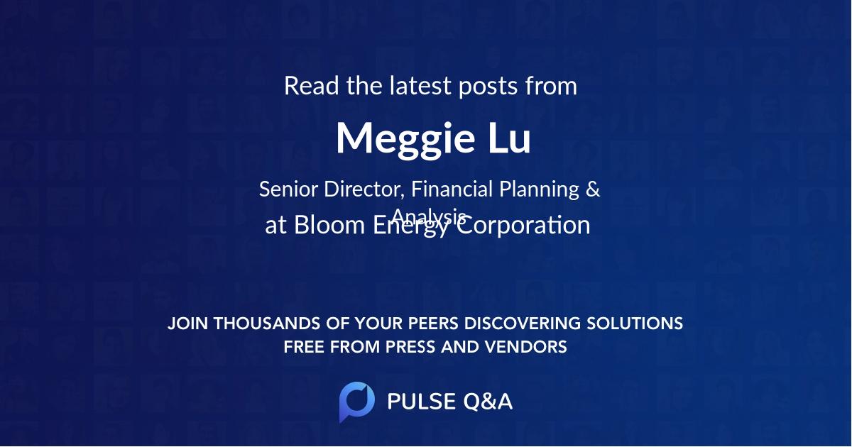 Meggie Lu