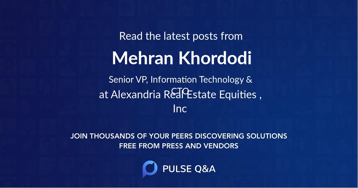 Mehran Khordodi