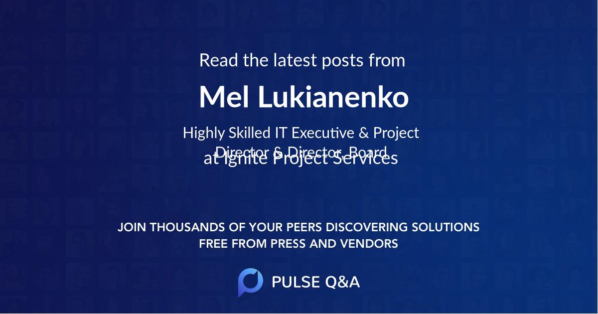 Mel Lukianenko