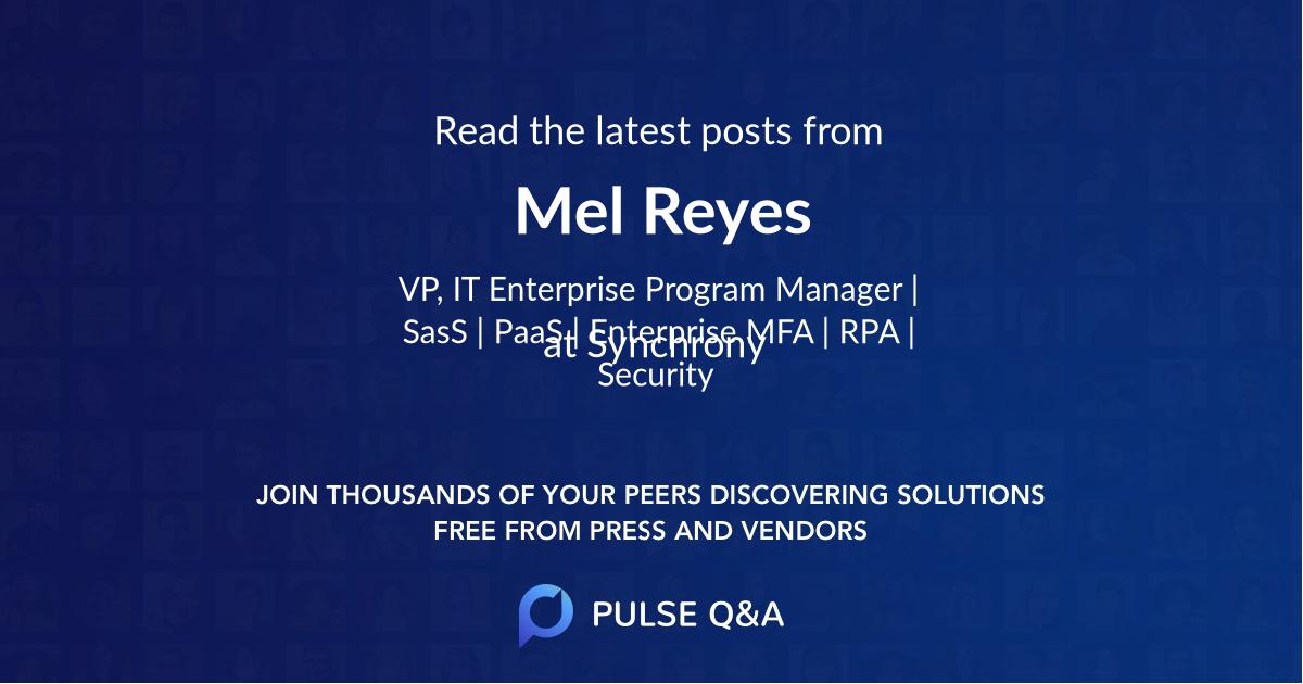 Mel Reyes