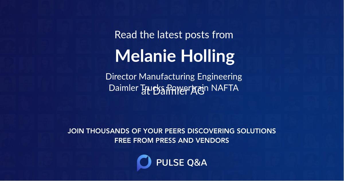 Melanie Holling