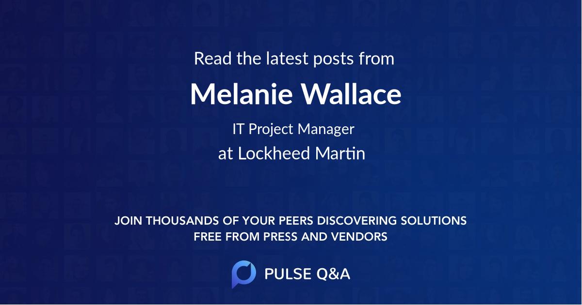 Melanie Wallace
