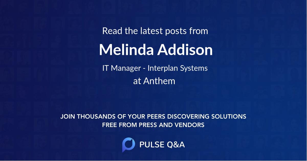 Melinda Addison