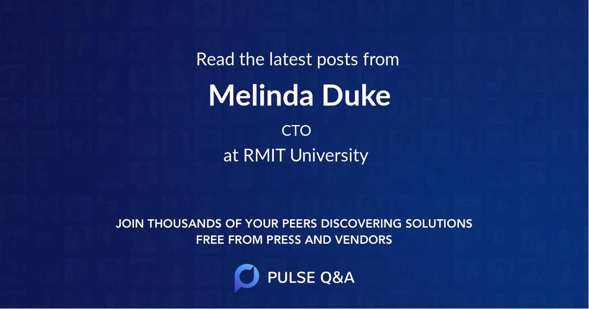 Melinda Duke