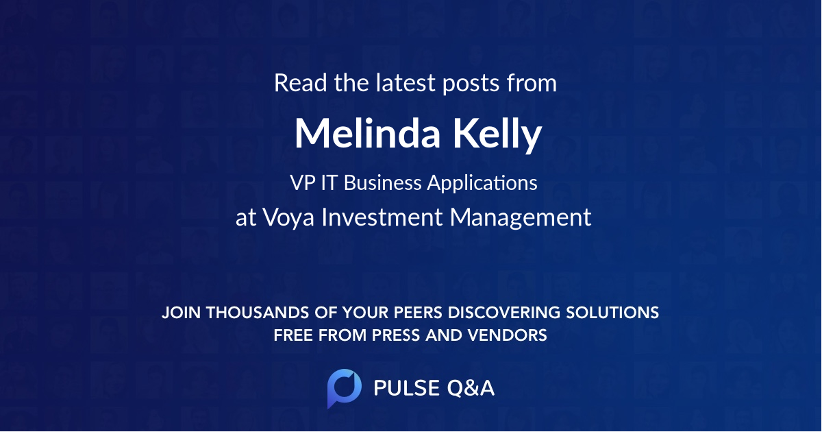 Melinda Kelly
