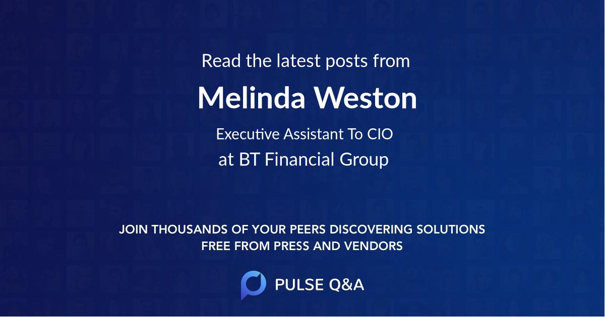 Melinda Weston