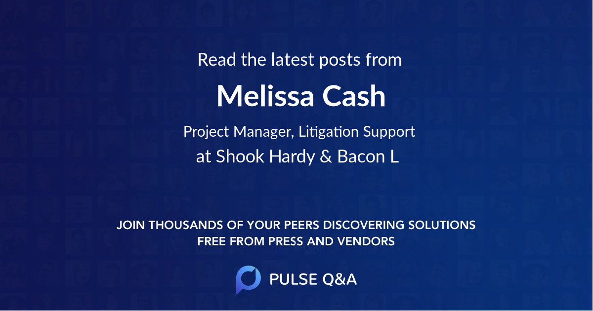 Melissa Cash