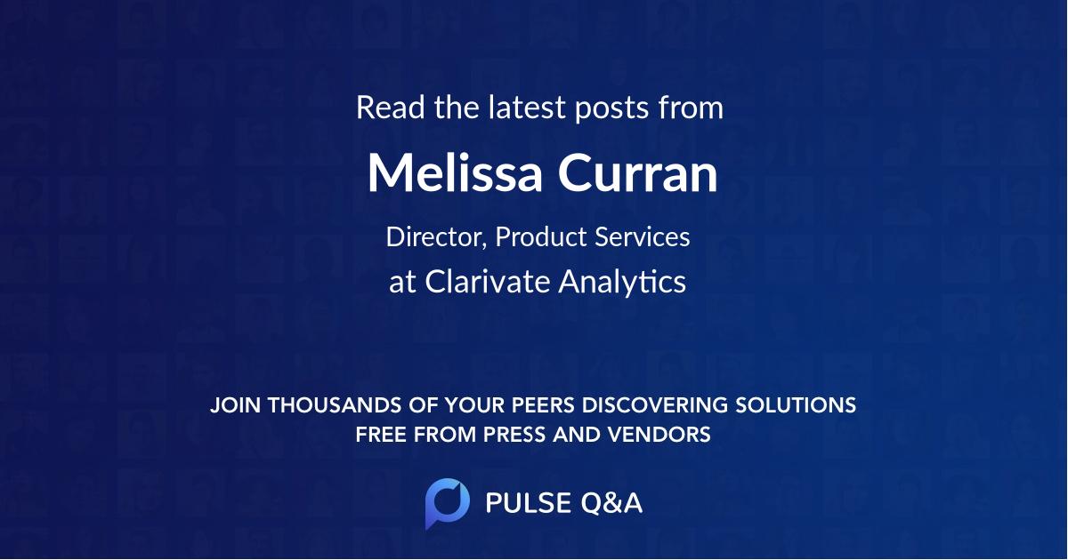 Melissa Curran