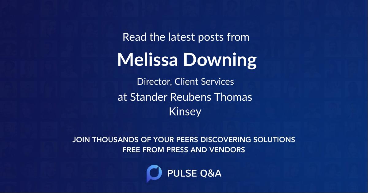 Melissa Downing